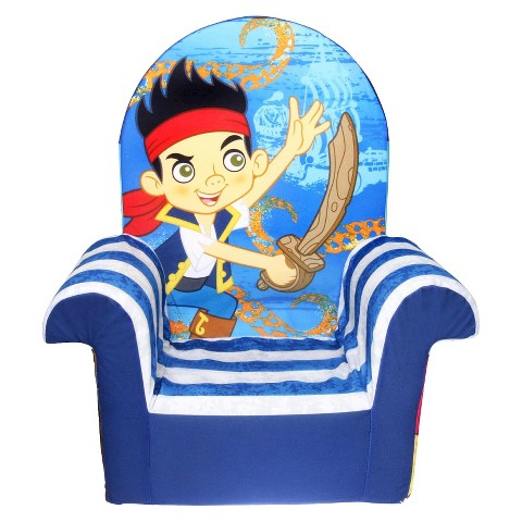 Marshmallow - High Back Chair - Jake & Neverland Pirates