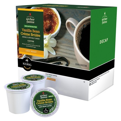 Archer Farms K-Cups Vanilla Bean Creme Brulee Decaf 18ct