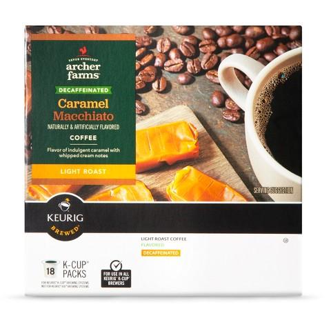 Archer Farms K-Cups Caramel Macchiato Decaf 18ct