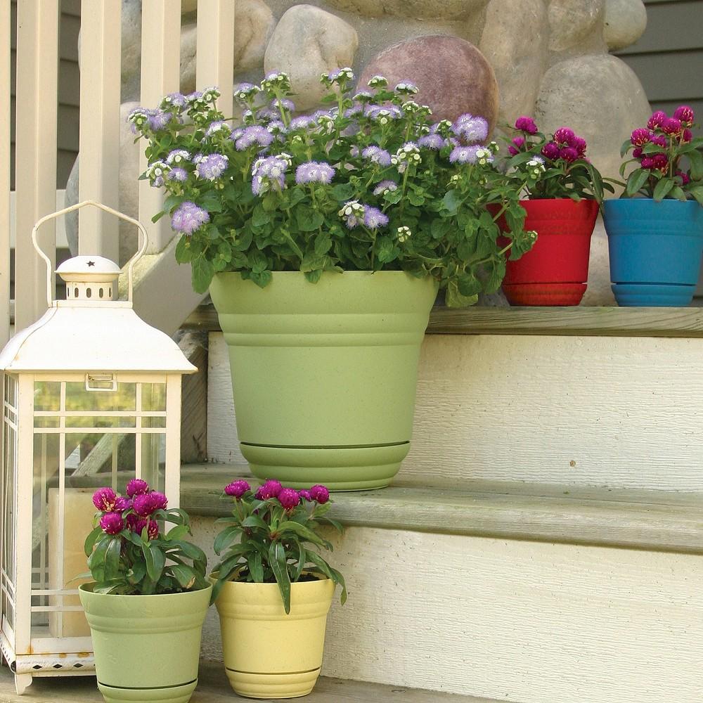 Upc 818574010109 Robert Allen Home And Garden Traverse Planter 7 Inch Bluemoon