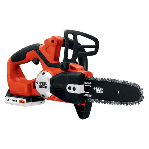 Black & Decker 20V Lithium Cordless Chain Saw