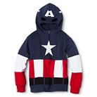 Captain American Zip-Up Hoodie