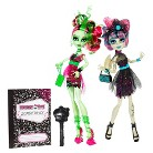 Monster High Zombie Shake Rochelle Goyle and Venus McFlytrap Doll 2-Pack
