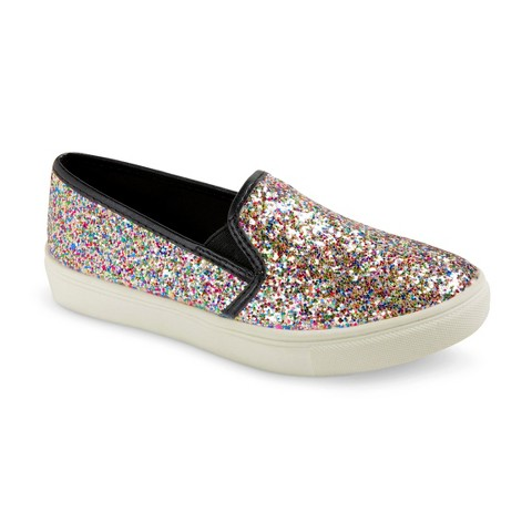 Girl's Circo® Hollie Glitter Sneakers - Assorted Colors