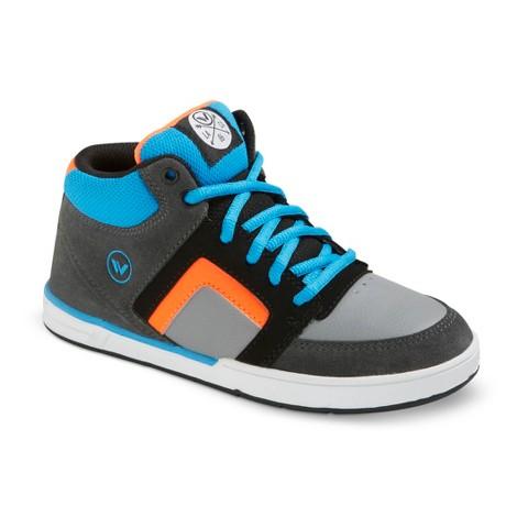 Boy's Shaun White® La Jolla Leather High Top Sneakers - Gray