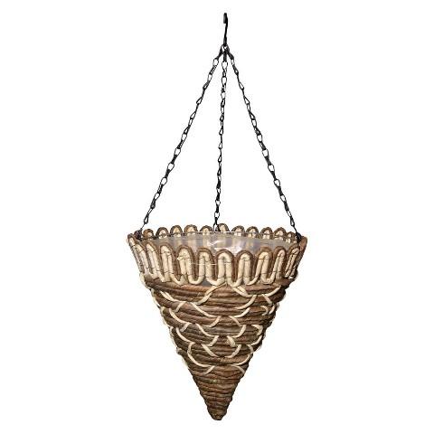 Weston Natural Hanging Basket