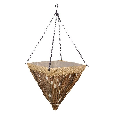 Kirkwood Natural Hanging Basket