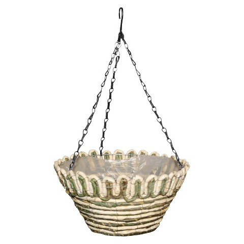 Newport Natural Hanging Basket