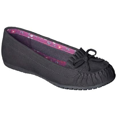 Girl's Cherokee® Robyn Moccasins - Black