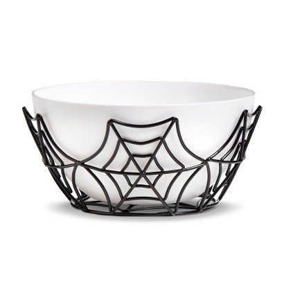 Image of Halloween Spider Web Candy Bowl (Medium)