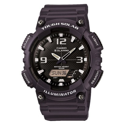 Men's Casio Solar Sport Combination Watch - Blue