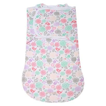 Summer Infant® SwaddleMe® WrapSack™ Floral Bird-Small