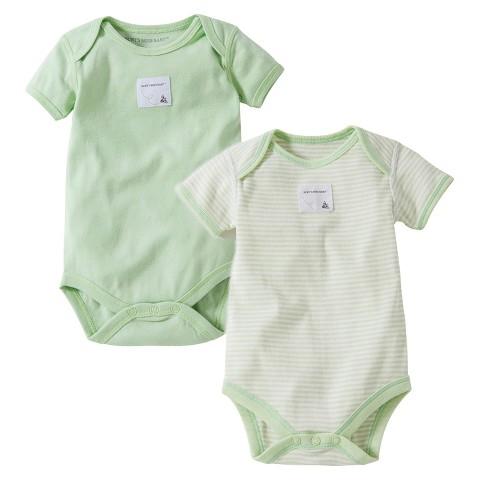 Burts Bees Baby™ Newborn Neutral 2 Pack Bodysuit
