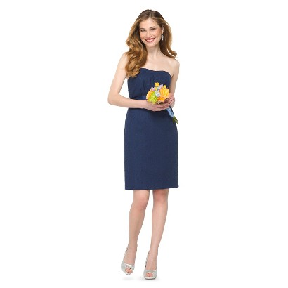 TEVOLIO Women's Lace Strapless Dress