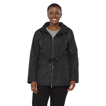 Women's Plus Size Long Sleeve Anorak Jacket-Pure Energy