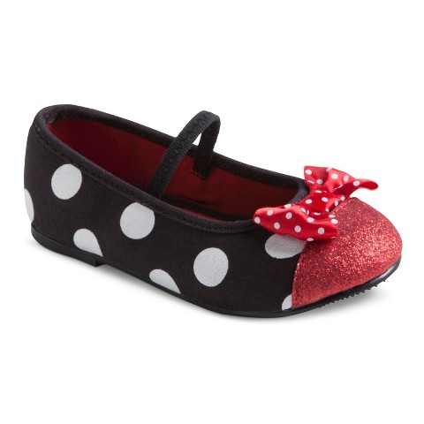 Toddler Girl's Minnie Mouse Ballet Flats - Assorted Colors