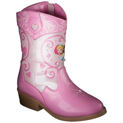 toddler s princess cowboy boots pink target