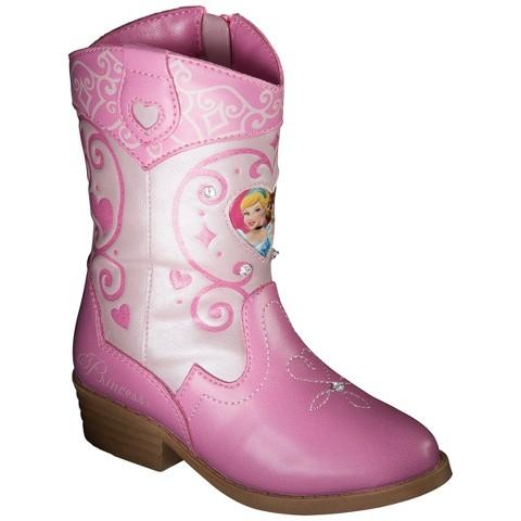 Toddler Girl's Princess Cowboy Boots - Pink