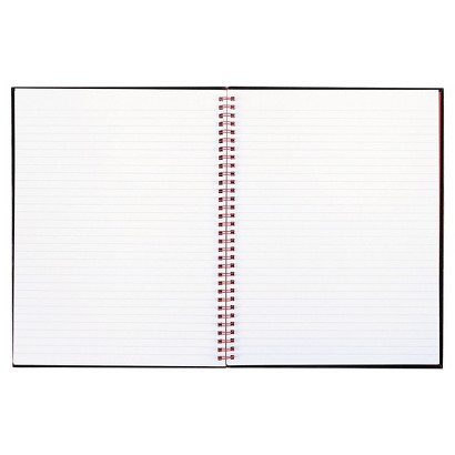 Black n' Red® 8-1/2 x 11 Twinwire Hardcover Notebook - 70 Sheets