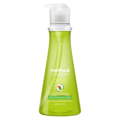 Method Dish Soap Lime & Sea Salt 18 fl oz
