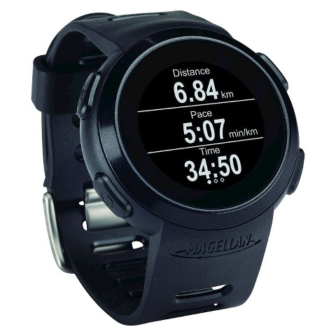 Magellan Echo Sportwatch with Heart Rate Monitor - Black