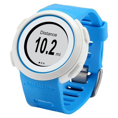 Magellan Echo Sportwatch with Heart Rate Monitor - Blue
