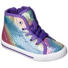 Toddler Girl's Circo® Jean High Top Sequin Sneakers - Assorted Colors