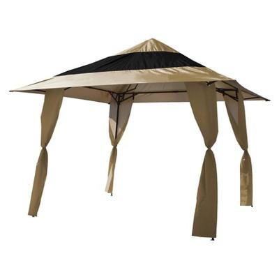 E-Z Up Veranda 144 Instant Shelter 12'x12' - Khaki