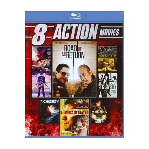 8 Action Movies (2 Discs) (Blu-ray) (Widescreen)