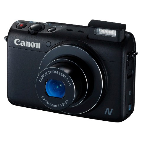 Canon PowerShot N100 12.1MP Digital Camera with 5X Optical Zoom
