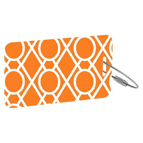 RuMe® 2 Piece Set Luggage Tags - Clementine