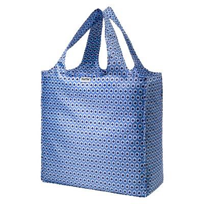 RuMe® Everyday Tote Bag - Aqua Ikat (Large)