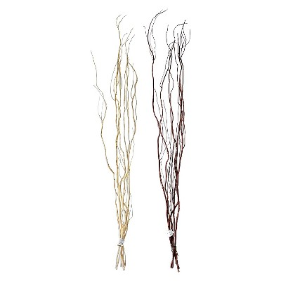 "Threshold™ Artificial Willow Stems- Brown (48"")"