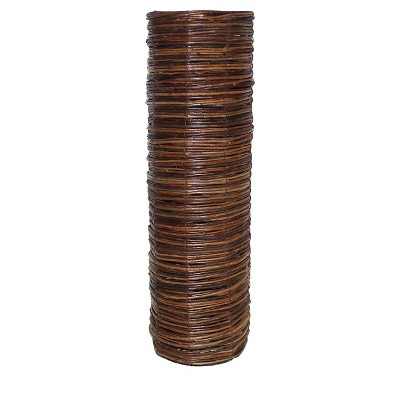 Espresso Wicker Vase - Threshold™