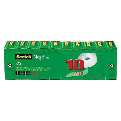 Scotch® Magic Tape - 10 Per Pack