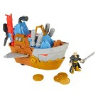 Fisher-Price Imaginext Pirate Shark Boat Play Set