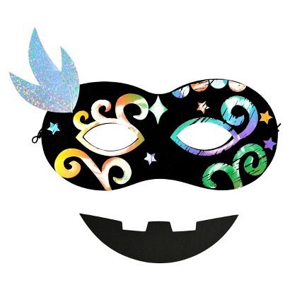 Image of Halloween Masquerade Mask Craft Kit