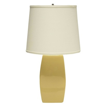 Haeger Soft Rectangle Table Lamp