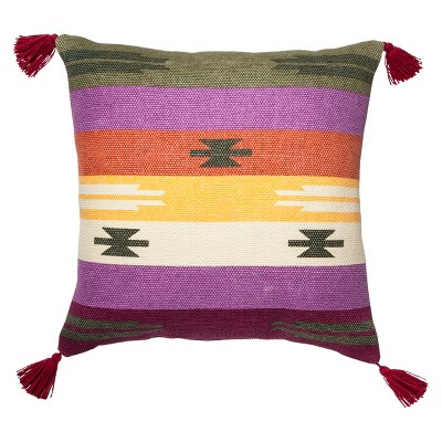 Decorative Pillow Mudhut Multicolor SQUAR