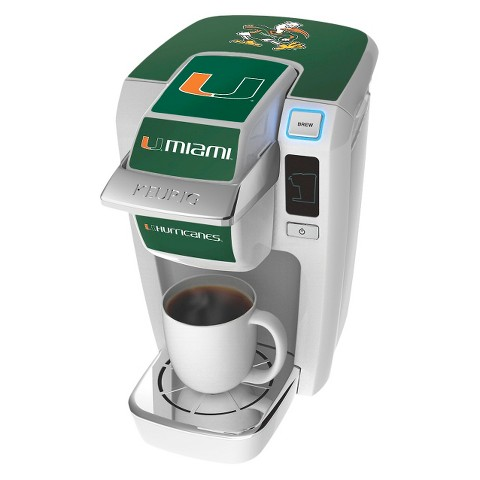 Keurig K10 Decal - University of Miami