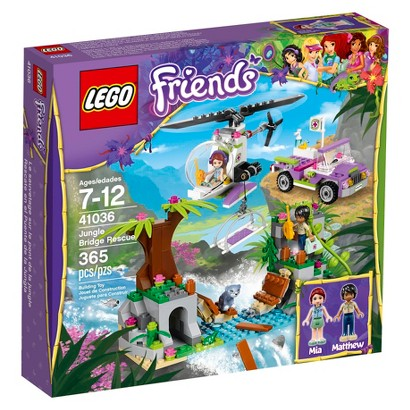 LEGO® Friends Jungle Bridge Rescue 41036
