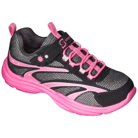 Girl's S Sport Designed by Skechers™ One Strap Sneaker - Black