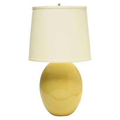 Haeger Egg Table Lamp
