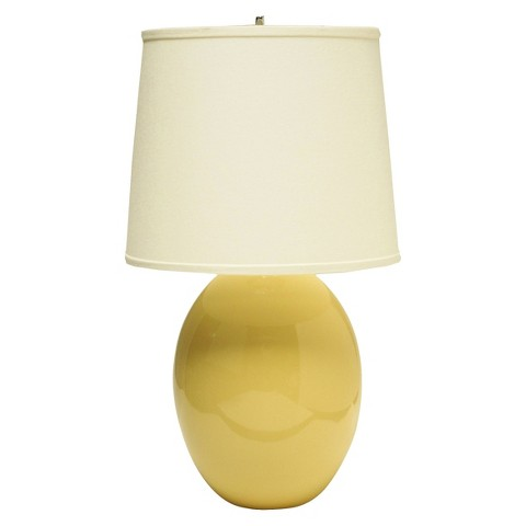 Haeger Egg Table Lamp