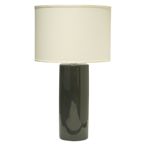Haeger Cylinder Table Lamp