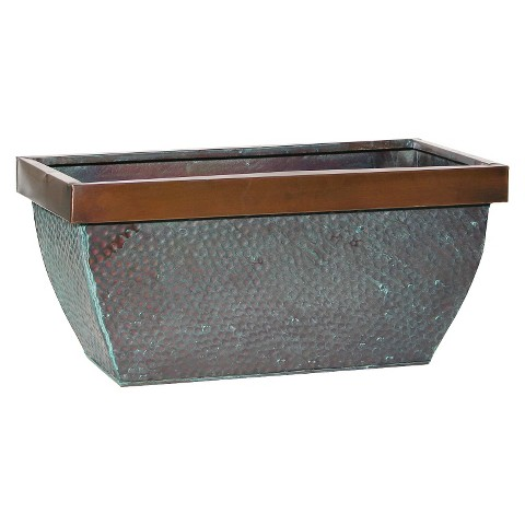 Traverso Metal Planter