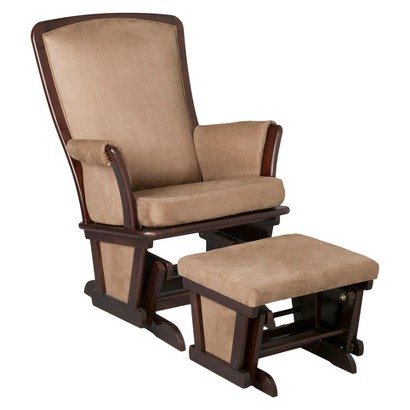 Bentley Upholstered Glider and Ottoman S