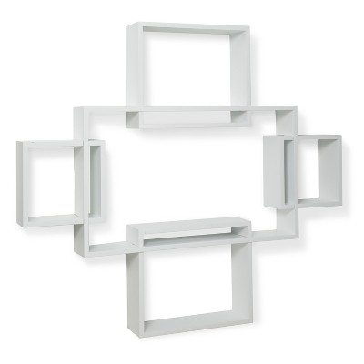 Threshold™ Large Interlocking Shelf - White