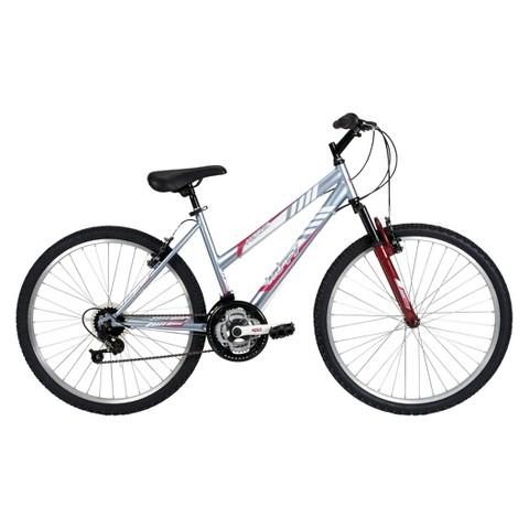 "Huffy Alpine 26"" Ladies' All-Terrain Bike - Light Blue"
