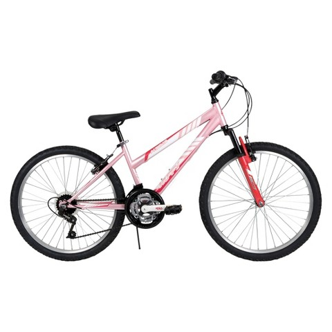 "Huffy Alpine 24"" Ladies' All-Terrain Bike - Pink"